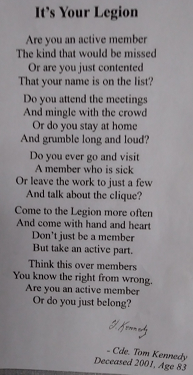 Legion Poem