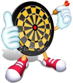 Dart Board caricature