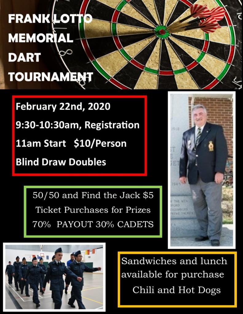 Frank Lotto Dart Tournament 2020